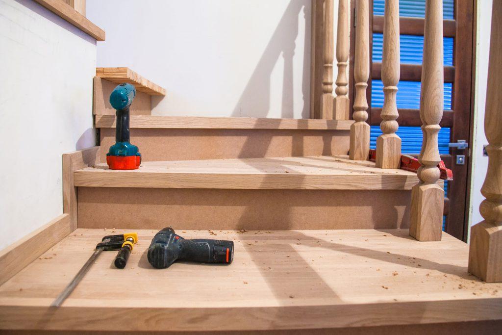 Hardwood Stairs Arlington Heights