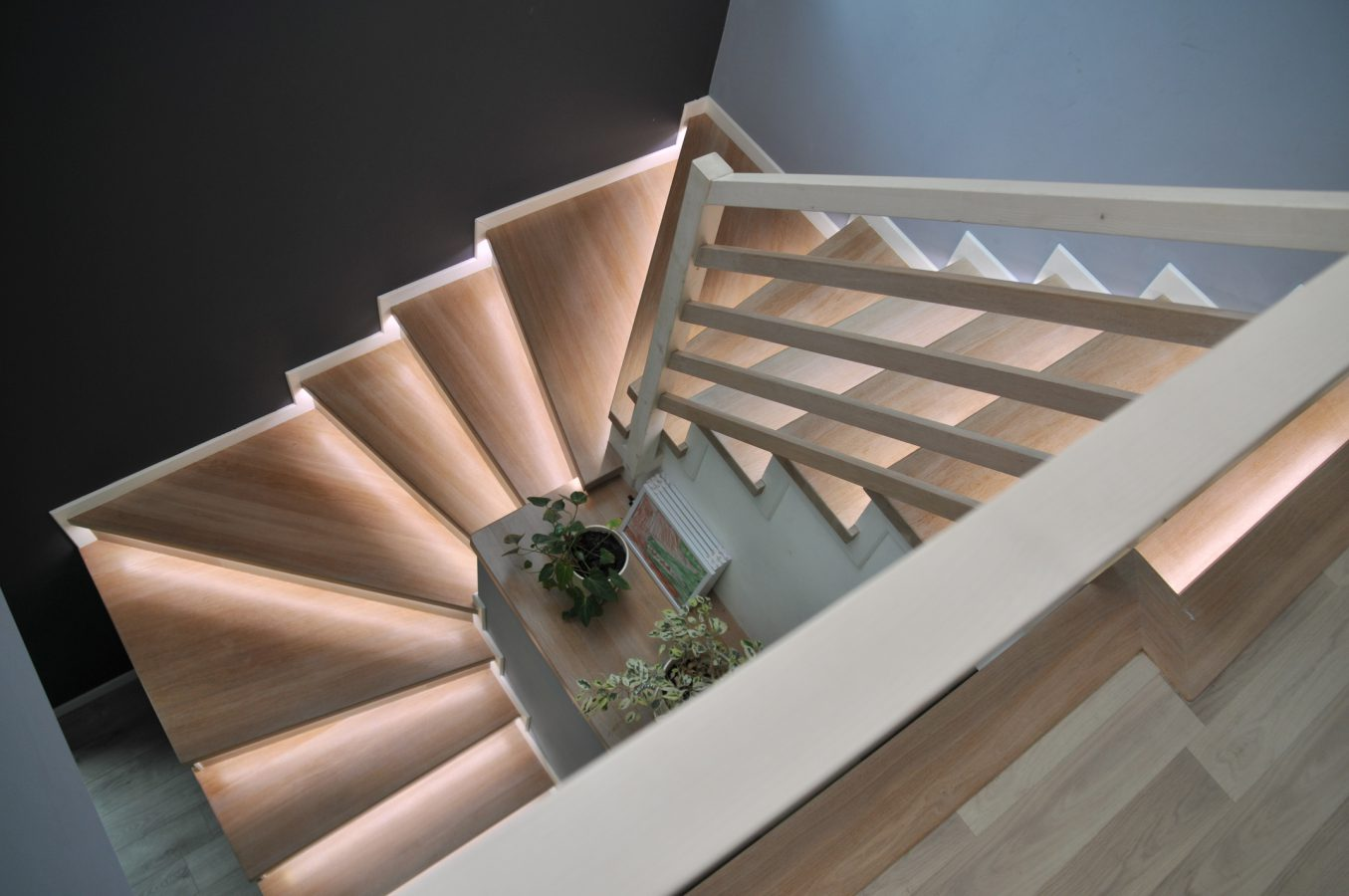 hardwood stairs Arlington Heights